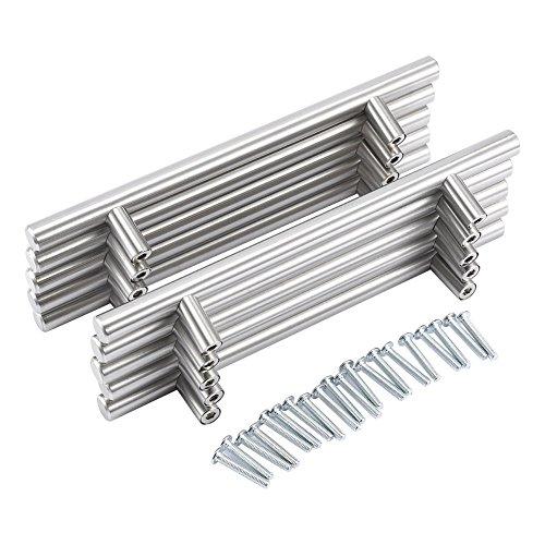 20 pro Packung Edelstahl Metallgriff Möbelgriffe Hängegriffe Schrankgriff Küchengriff Relinggriff &Super Angebot