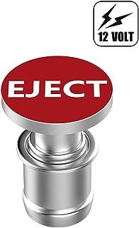 Eject Button Car Cigarette Lighter Plug, Anodized Aluminum, Standard 12-Volt Power Source Replacement Accessory, Fits Most...