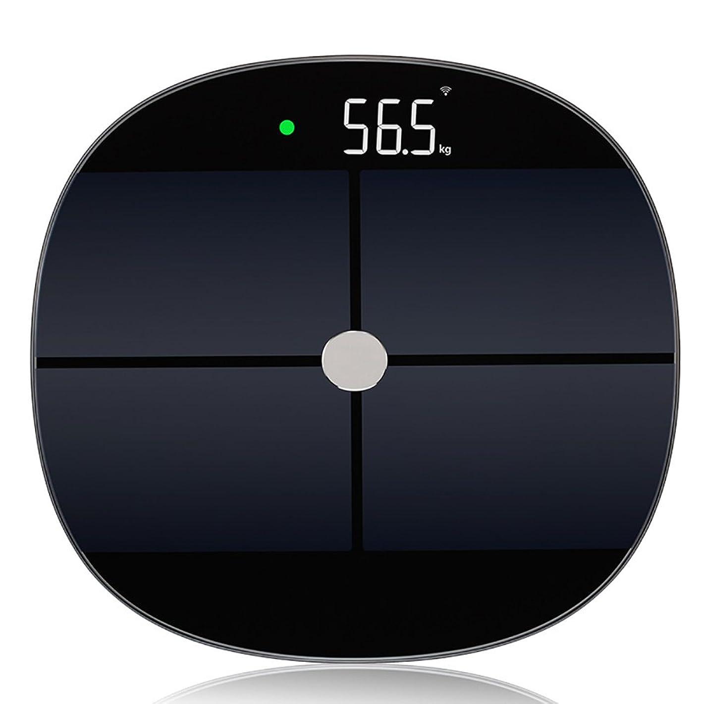 優しい平行オーナメントSYF 体重計 インテリジェント電子体重計体重計人間の体重計量正確な体重体重計180日間の待機時間 A+