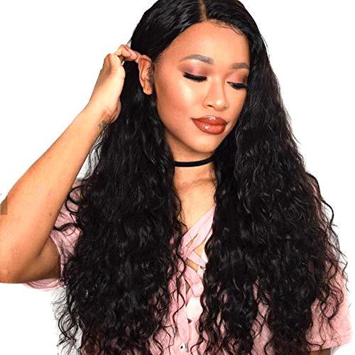 Lucas peluca Bresilienne 360Lace frontal rizado Curly Remy Cabello Natural Encaje Con Pelo Bebé alrededor nacimiento de los Cabello Natural para mujer densidad 130% 8–24Inch