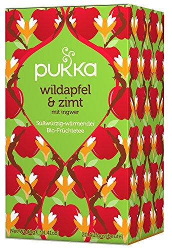 Wildapfel & Zimt PUKKA Tee BIO 4 Packungen à 20 Teebeutel