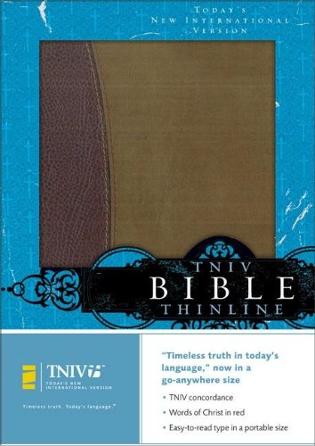 Compare Textbook Prices for TNIV Thinline Bible: Burgundy/Pecan European Leather Today's New International Version  ISBN 9780310924050 by Zondervan