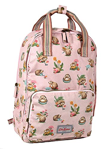 Cath Kidston Backpack Rucksack Mini Garden Club in Vintage Pink Oilcloth