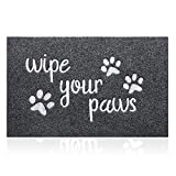 Welcome Door Mats for Home Outside Entrance Funny Rug Wipe Your Paws...