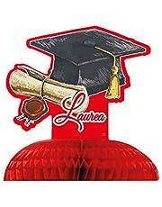 Big Party Centros Nido de Abeja Graduación, Color, 81509