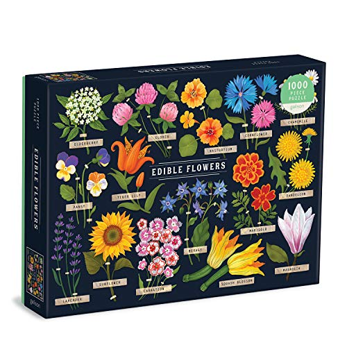 Edible Flowers Puzzle: 1000 Piece