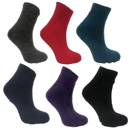 RJM 9 Paar Kinder Winter Thermal Socken EUR 37-39