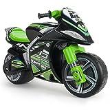 INJUSA Moto Correpasillos Kawasaki XL para Niños +3 Años con Asa para...