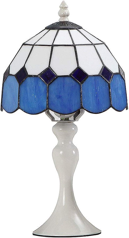 KCoob Mediterrane Stil Tischlampe Meer-Blau Plain Shade Bulb Tischleuchte Tischleuchte Tischleuchte Base B07HB4X3NH | Räumungsverkauf  715a8c