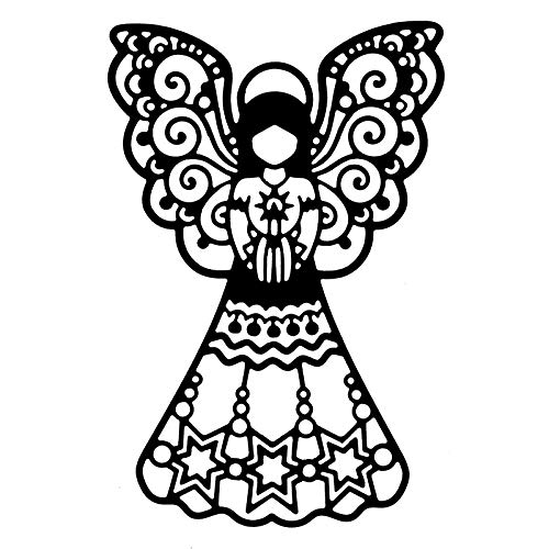 Stanzschablone | Engel 3 | 9,3 cm x 13,9 cm
