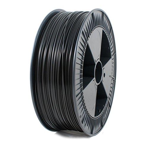 ICE Filaments ICEFIL3PLA121 PLA filamento, 2.85mm, 2.3 kg, Brave Black