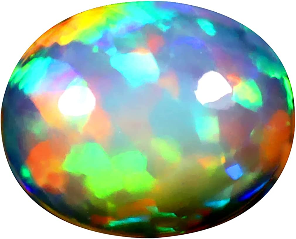 2.56 ct OVAL specialty shop CABOCHON 11 X 360 Max 68% OFF ETHIOPIAN DEGREE FLASHING mm 9