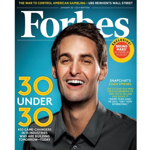 Forbes, January 13, 2014 audiobook cover art