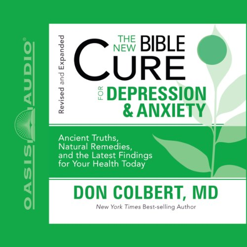 The New Bible Cure for Depression and Anxiety audiobook cover art