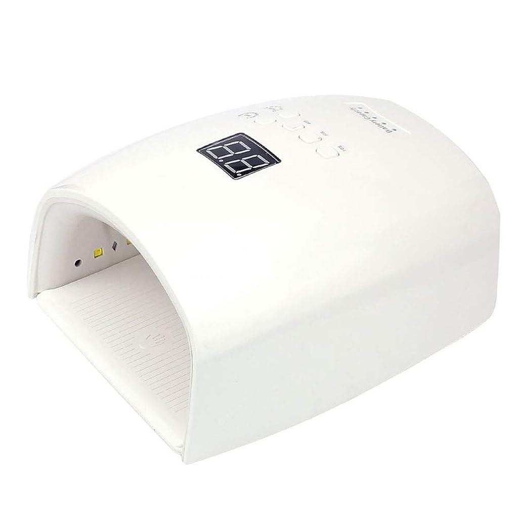 結び目呼吸覆すネイルドライヤー、ネイル用48wポータブルLED / UVランプ、30/60/90秒タイマー、赤外線センサー、取り外し可能な磁性プレート、LCDディスプレイ、すべてのゲルに対応