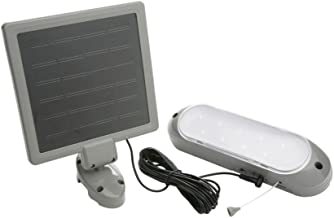 Designers Edge L-949 Rechargeable Solar Shed Lights with 10 Bright LED Bulbs and 16-Foot Extension Cord
