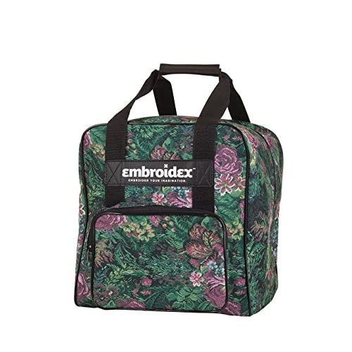 Embroidex Floral Serger/Overlock Carrying Case - Carry Tote/Bag Universal