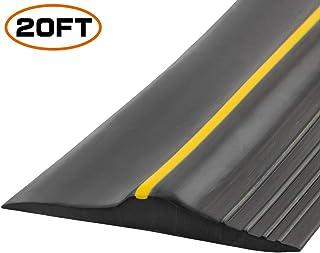 Universal Garage Door Bottom Threshold Seal Strip,Weatherproof Rubber DIY Weather..