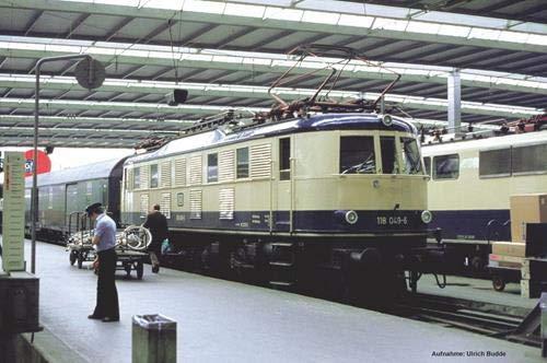 Piko 51866 H0 E-Lok BR 118 DB beige-blau