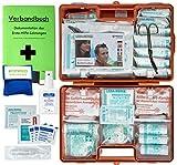 Erste-Hilfe-Koffer M2 PLUS für Betriebe ab 50 Mitarbeiter DIN 13169 EN 13169 incl. Verbandbuch & Hygiene-Ausstattung
