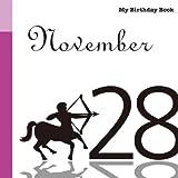 11月28日 My Birthday Book