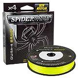 Spiderwire Dura-4 Flechtleine 300m Gelb 33lb/15kg 0.17mm