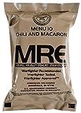 Kit de Supervivencia, ración de Alimentos de Emergencia, Militar, ejército EE.UU, MRE, NATO, 1-24 - 12# Elbow Macaroni in Tomato Sauce