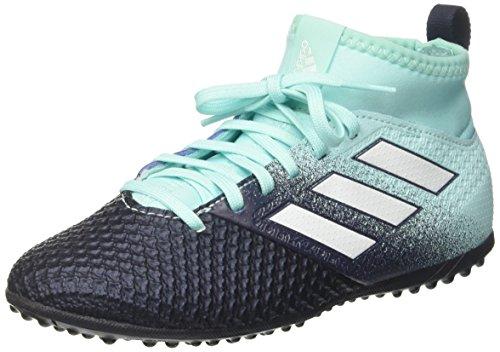 adidas Jungen Ace Tango 17.3 Tf J Fußballschuhe, Mehrfarbig (Energy Aqua /ftwr White/legend Ink ), 33 EU