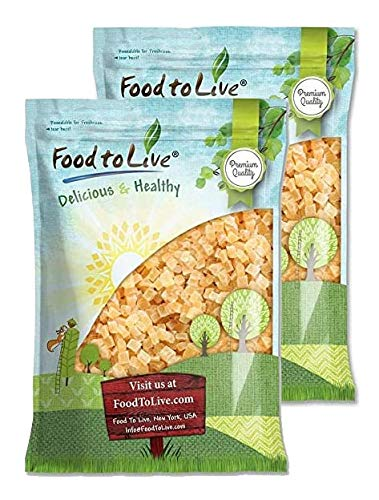 Dried Diced Pineapple Minneapolis Mall 15 mart Pounds Unsulf Sweetened Raw - Vegan