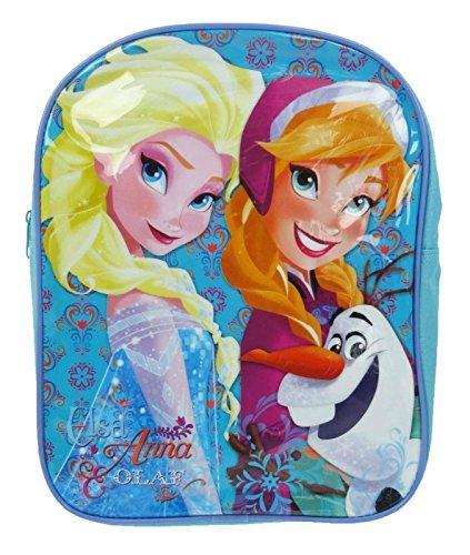 Trademark Collezioni Disney congelati zaino ragazze Schoolbag Con Elsa, Anna e Olaf
