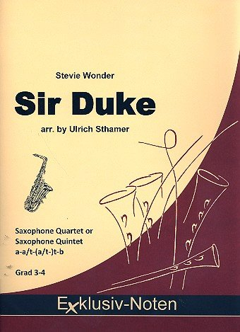 Lord Duke : voor 4-5 saxofoon partitur en stemmen