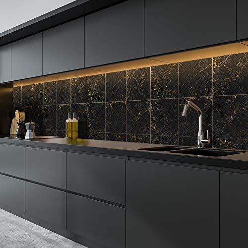 Vinilo adhesivo para pared de suelo para decoración del hogar, despegar y pegar, autoadhesivo, para decoración del salón, cocina, baño, 15 x 15 x 10 unidades