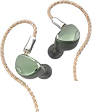 BQEYZ Spring2 HiFi in-Ear Monitor,IEM Equipped Advanced Hybrid Triple BA Dynamic Driver with Detachable Cable for Noise Isolation Audiophiles Musicians (Green)