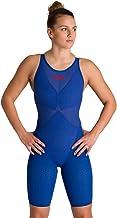 ارينا - المرأة Powerskin الكربون الانزلاق كامل الجسم قصيرة الساق مفتوحة الظهر