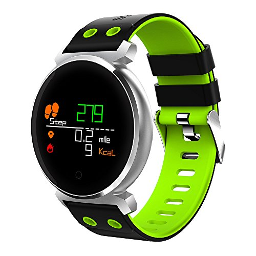 LMMET Smartwatch Fitness Compatibile iOS,Android Bluetooth per iPhone Samsung Xiaomi Huawei Smart Watch Uomo Donna Bambini Fitness Tracker -Activity Tracker,Orologio Sportivo Impermeabile