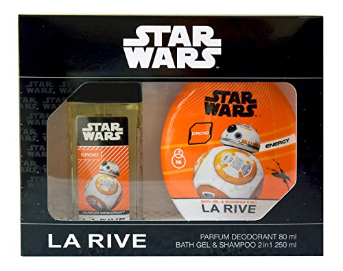 LA RIVE Disney Star Wars Droid Geschenkset Deo Spray 80ml + Duschgel 2in1 250ml