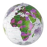 HAB & GUT -EB002- Wasserball aufblasbar, geprüfte Qualität, transparent Globus Ø 45 cm -