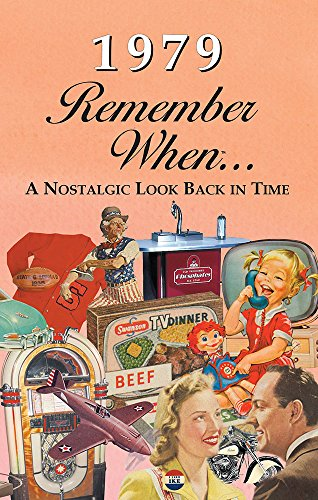 1979 REMEMBER WHEN CELEBRATION KARDLET: Birthdays, Anniversaries, Reunions, Homecomings, Client & Corporate Gifts (RW1979)