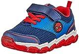 CERDÁ LIFE'S LITTLE MOMENTS Cerdá-Zapatillas Luminosas de Spiderman de Color Azul, Gris Perla, 27 EU