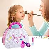 Sunnyushine Kit De Juguetes De Maquillaje para Niños Maquillaje Infantil Kit De Maquillaje para...