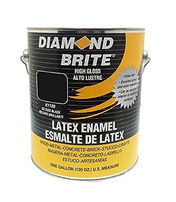 Diamond Brite Paint 1-Quart Latex Gloss Enamel