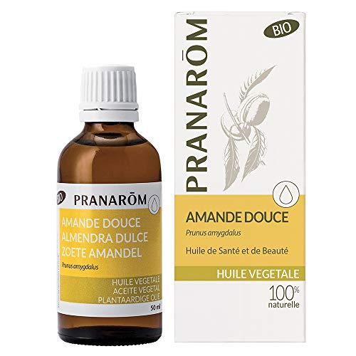 Pranarôm - Amande Douce Bio - Huile Végétale - Adoucissante et Protectrice - 50 ml