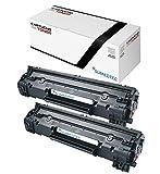 Sumedtec - Pack DE 2 X Toner Compatible para Brother TN2420 TN-2420 TN2410 TN-2410. Toner para Brother HL-L2310D L2350DN L2370DN L2375DW L2710DN L2710DW MFC-L2730DW L2750DW DCP-L2510D L2530DW L2550DN