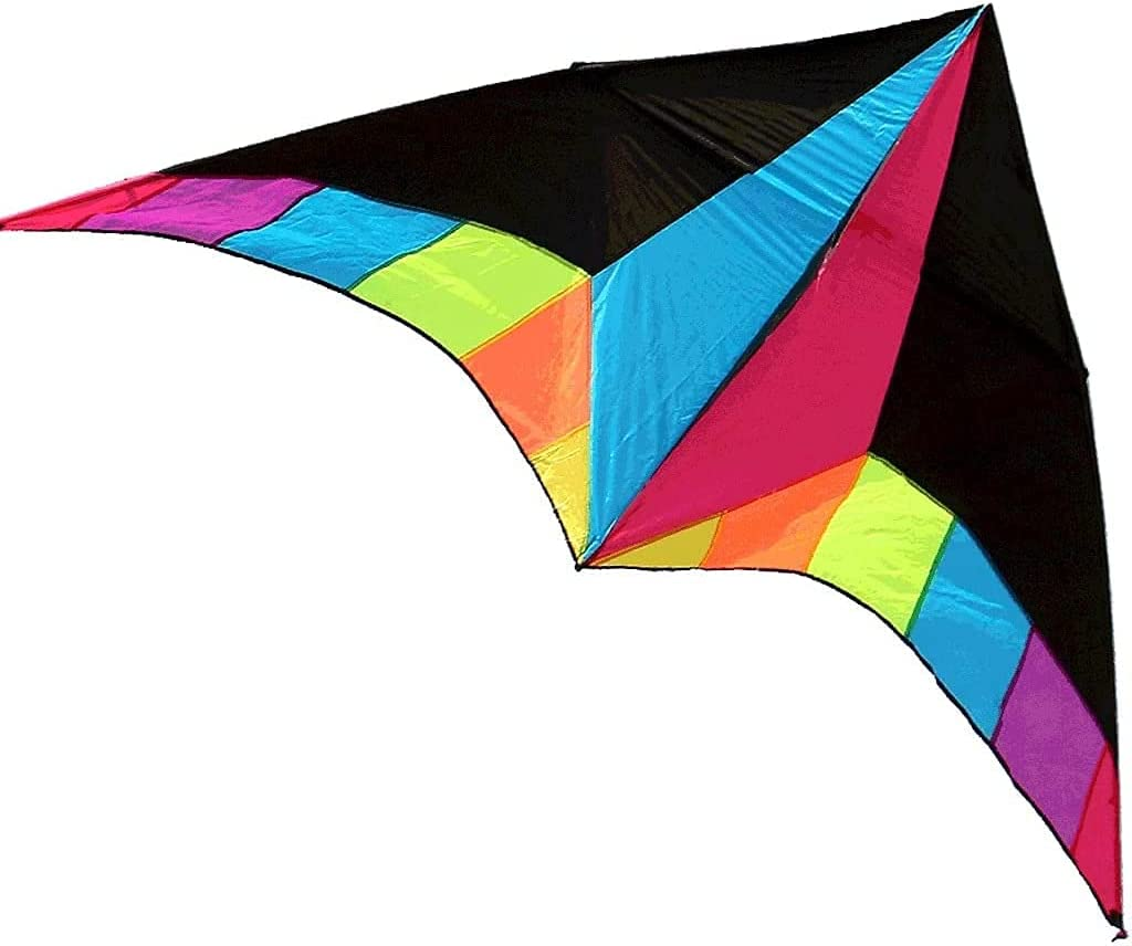LIOYUHGTFY Choice Kids Kite Outdoor Games Cheap mail order sales Rainbow Colorful Tri Fly