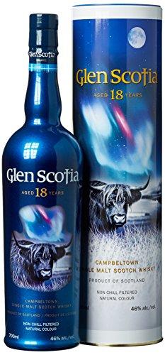Glen Scotia 18 Years Old mit Geschenkverpackung  Whisky (1 x 0.7 l)