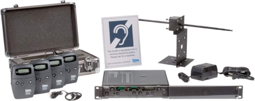 Free Shipping New Listen Technologies LS-04-072-01 Advanced System RF 7 Quality inspection Installed