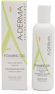 A-Derma Soap-free Foaming Gel With Rhealba Oat Milk 100 ml