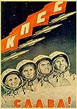 asfrata265 Vintage Russische Propaganda Poster Das