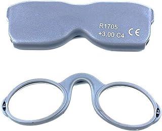 89674301ed PANGHU Gafas de lectura mixtas sin patillas - Siempre a mano -  Rectangulares 5 colores/