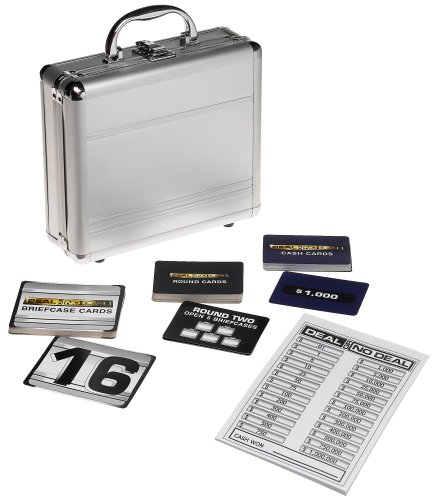 Deal or No Deal Card Game in Aluminum Case by Cardinal Industries
